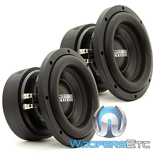 Pair of Sundown Audio E-8 V.5 D4 8' 300W RMS Dual 4-Ohm EV.5 Series Subwoofers
