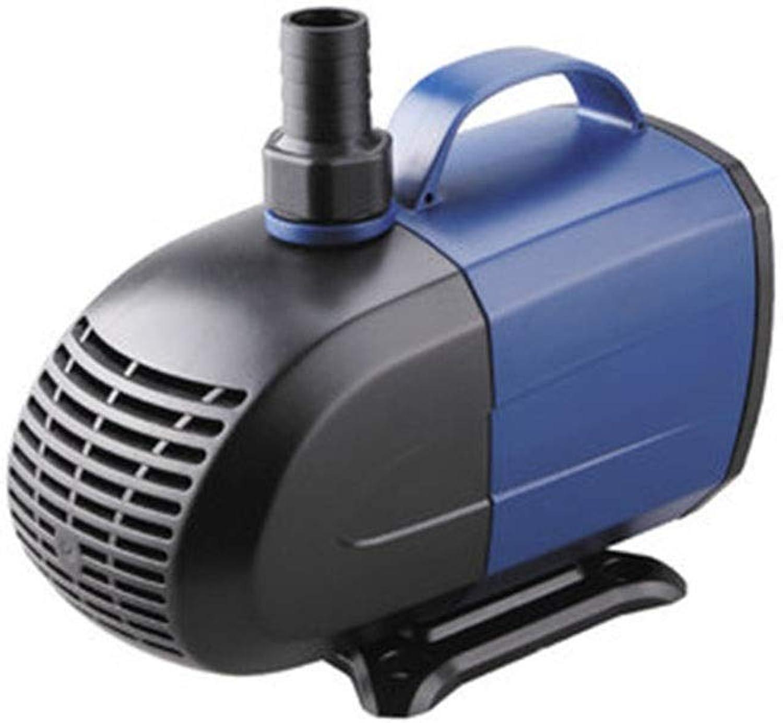 LIFUREN Fish Tank Oxygen Pump Submersible Pump Circulating Pump Large Flow Mini Mini Mute Filter Amphibious (color   bluee, Size   40W)