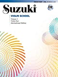 Suzuki Violin School Violin Part & CD, Volume 5 (Revised): Violin Part, Book & CD (Suzuki Method Core Materials)