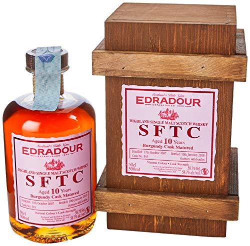 Edradour Sftc 2007 Burgundy Highland Scotch di Malto Singolo - 500 ml