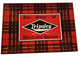 Cadaco Ellis Vintage Tripoley - The Game of Kings and Queens - Service Edition 1943