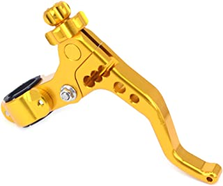 JFG RACING Billet MX Short Clutch Lever Perch For SUZUKI RM125 RM250 RMZ250 RMZ450 2 fingers