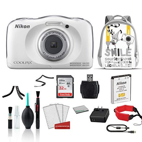 Nikon COOLPIX W100 Waterproof Rugged Digital...