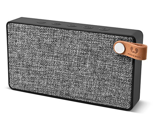 Fresh 'n Rebel ROCKBOX SLICE Fabriq Edition Concrete | Kabelloser Bluetooth Lautsprecher