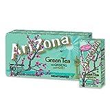 AriZona Green Tea with Ginseng and Honey, 6.75 fl oz Tetra Box (Pack of 32)