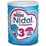 Nestlé Nidal 3 Lait de Croissance en Poudre de 1 à 3 Ans 800g