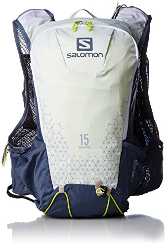 Salomon Skin Pro 15 Set, Unisex-Erwachsene Rucksack, Violett (Prpl Oplnc/Mdvl Blu), 24x36x45 cm (W x H L)