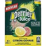Perrier Juice citron goyave - Les 4 canettes de 25cl