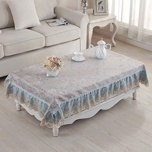 Couverture européenne de nappe de tissu européen de nappe de dentelle anti-brûlante pour la décoration intérieure, les fêtes d'anniversaire, les réceptions de mariage, les tables de salle à manger