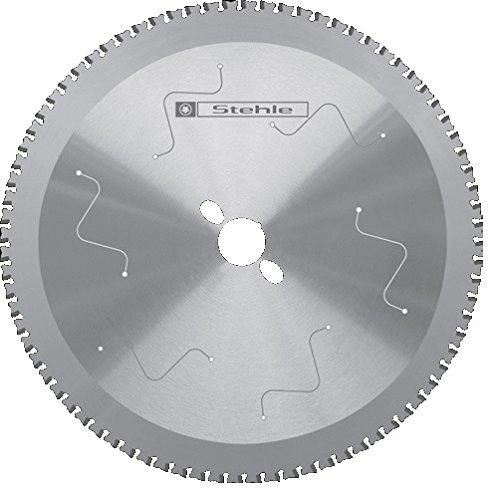 Stehle HW(HM) - Hoja de sierra circular tronzadora (acero, 254 x 2,2 y 1,8 x 30 mm, 72 dientes planos con ranurado alternado)