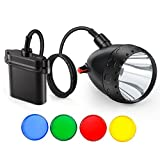 Kohree Dimmable Hog Coyote Coon Hunting Light 10W Cree LED Rechargeable Predator Hunting Mining...