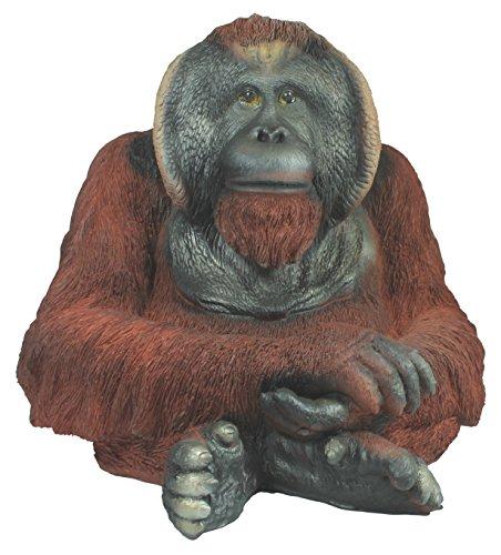 colourliving Dekofigur Orang Utan Gregor AFFE Menschenaffe Primaten Gartenfigur Tierdeko