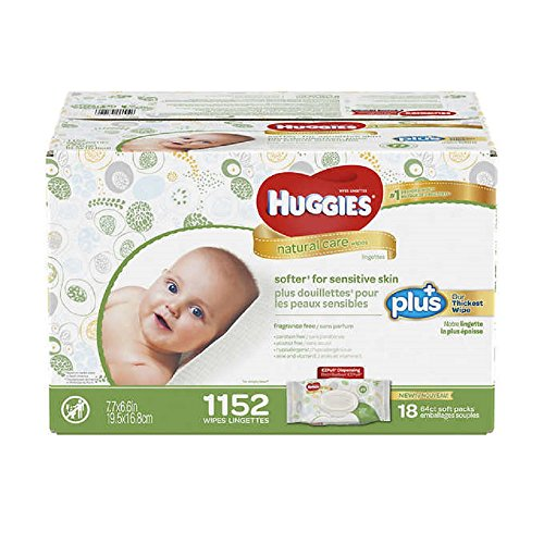 Huggies Natural Care Plus Wipes
