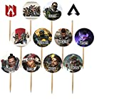 APEX Legends Cupcake Picks Cake Toppers Double-Sided-12 pcs