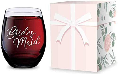 wholesale Stemless online Wine discount Glass for Bridesmaid Gifts - Made of Unbreakable Tritan Plastic and Dishwasher Safe - 16 ounces online