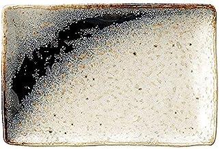 姿月窯 銀河 串皿 小 17cm 和食器 長角皿 日本製 美濃焼 業務用 65-51624012