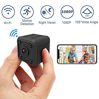 1080P Mini Spy Hidden Camera (Wi-fi), SYOSIN Wi...