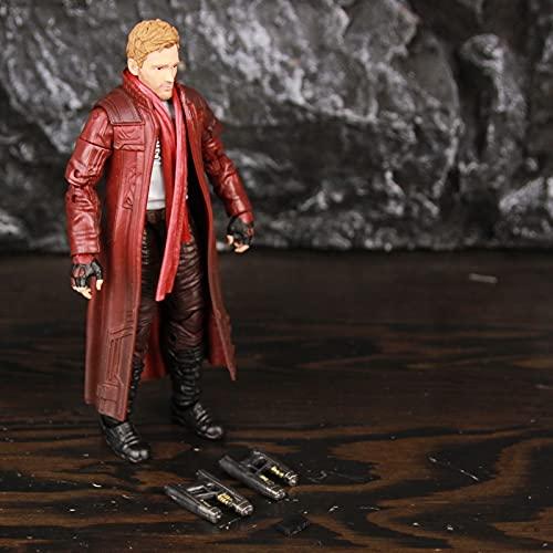 MIBHNJIAN Modelo Legends Star Lord 6'Figura de acción Toys Modelo Modelo (Color : Star Lord GOTG2)