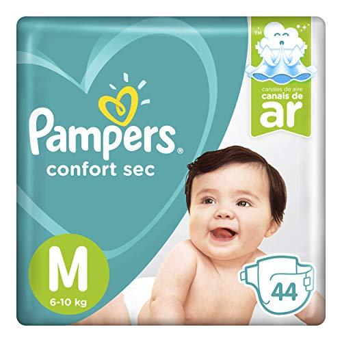 Fralda Pampers Confort Sec Mega, M, 44 unidades
