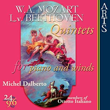 Mozart / Beethoven: Quintets for Piano and Winds