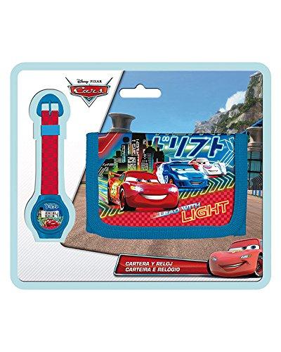 Disney Blister Montre Portefeuille Cars
