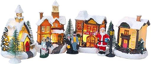 NC Feliz Natal Casa Brilhante Edifício para Decoração, Atmosfera