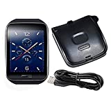 Linkshare Replacement for Samsung Galaxy Gear S SM-R750 Smart Watch Charger USB Charging Cable Wire Cord Dock Data Sync Black