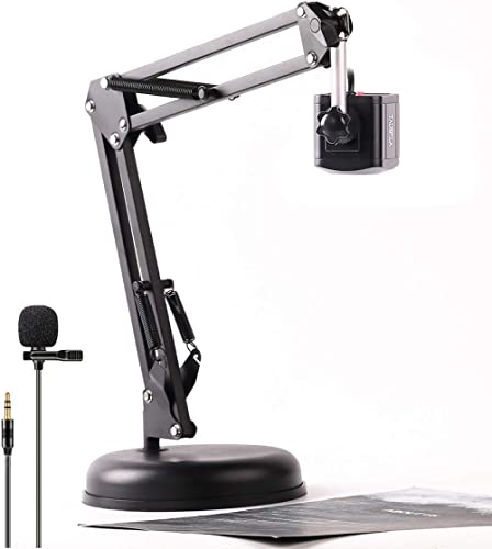 TAUSFILA 8MP USB Webcam,Document Camera with Lavalier Microphone for Teacher, High Definition Camera, Distance Virtua...