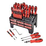 Juego de 100 destornilladores magnéticos y puntas magnéticas, kit de precisión para herramientas de reparación profesional