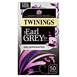 Twinings Earl Grey Decaffeinated 50 Bag