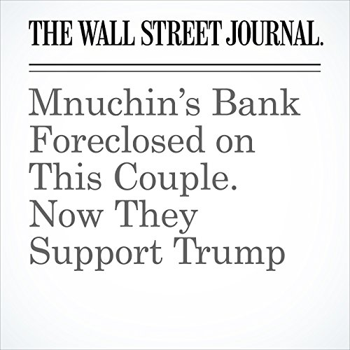 Mnuchin's Bank Foreclosed on This Couple. Now They Support Trump copertina