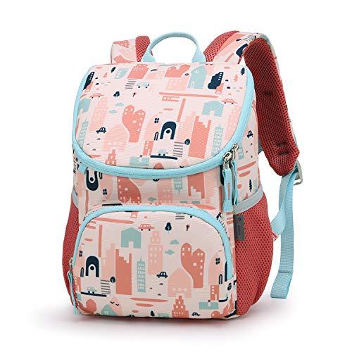 MOUNTAINTOP Toddler Backpack for Kids Boys Girls, Daycare Kindergarten Preschool Nursery Children Bag Removable Chest Strap