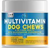 Ready Pet Go! Multivitamin for Dogs - Glucosamine for Strong Joints- Vitamins for Skin and Coat…