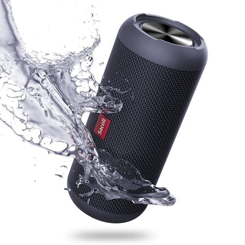 Sacoll Lautsprecher Bluetooth tragbar,30W Stereo IPX6 wasserdicht kabellos Bluetooth Lautsprecher Box, Bluetooth 5.0,20H Spielzeit, Duales Lautsprecher-Paarung, Geeignet Reisen im Freien,Camping