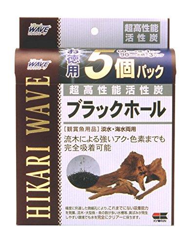 ヒカリ (Hikari) ブラックホール 徳用 60cm水槽用 5回分