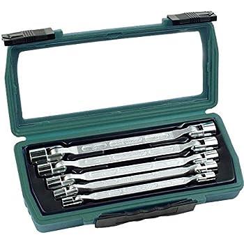 Brüder Mannesmann Werkzeuge 19821 - Juego de llaves de vaso combinadas (paquete de 5): Amazon.es: Bricolaje y herramientas
