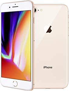 Apple iPhone 8, 64GB, Gold - for Cricket Wireless (Renewed)