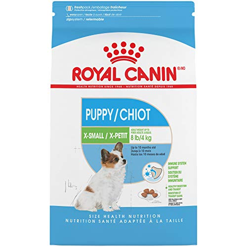 Royal Canin X-Small Puppy Dry Dog Food, 3 Pounds