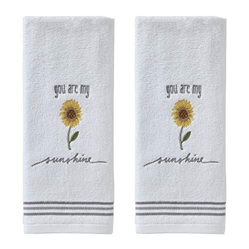 SKL HOME by Saturday Knight Ltd. Sunshine Hand Towel Set, White