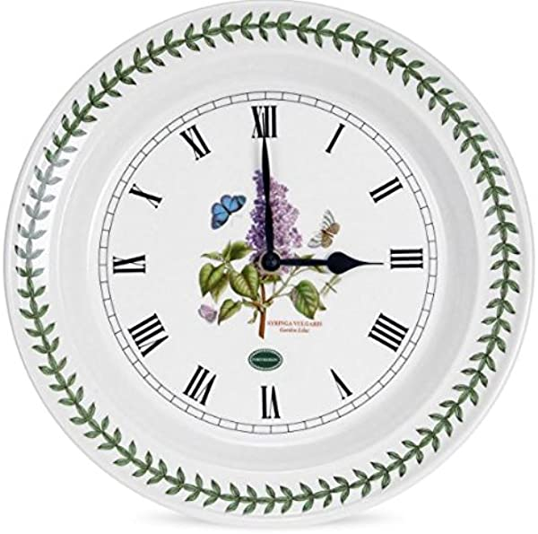 Portmeirion Botanic Garden Kitchen 10 Inch Wall Clock