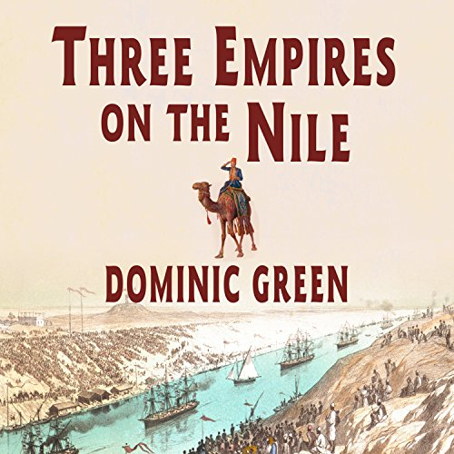 Three Empires on the Nile audiobook cover art