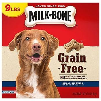 Milk-Bone Grain Free Dog Treats Small Biscuits 9 Pound Box