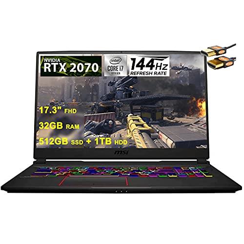 MSI 2021 Flagship GE75 Raider 17 Gaming...