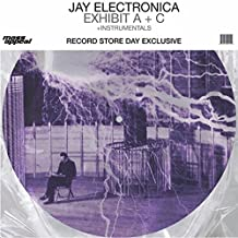 Jay Electronica: Exhibit A+C Instrumentals (Pic Disc) Vinyl 12