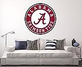 West Mountain Alabama Crimson Tide Wall Decal Home Decor Art College Football NCAA Team Sticker