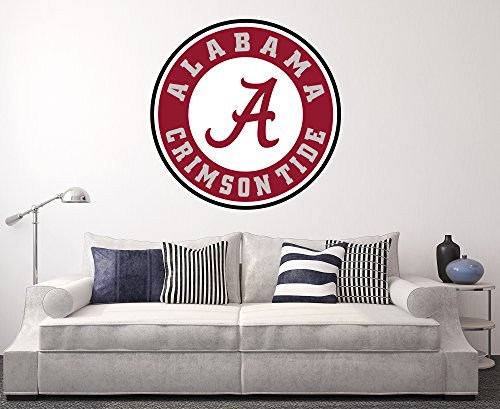 West Mountain Alabama Crimson Tide Wall Decal Home Decor Art College Football NCAA Team Sticker