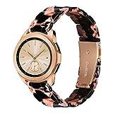 YaYuu 20mm Résine Bracelet de Montre Samsung Galaxy Watch Active 40mm dégagement Rapide Bande Sport Sangle pour Galaxy Watch...