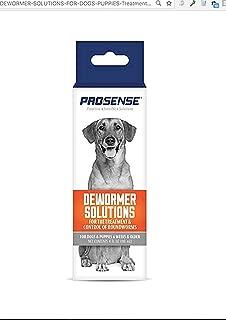 8 in 1 J1715 4 Oz Pro-Sense Roundworm Liquid De-Wormer for Dogs