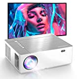 Proyector, Proyector Soporta 4K, Proyector Full HD 1080P Nativo, 7200 Brillo 9000:1, Sonido HiFi con Dolby, 6D Automático, Compatible con TV Stick, HDMIx2, Parrot I