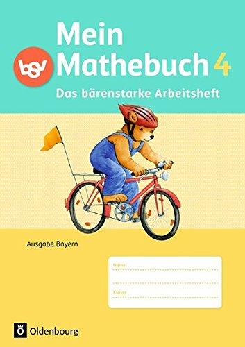 Mein Mathebuch - Ausgabe B für Bayern - Neubearbeitung: 4. Jahrgangsstufe - Arbeitsheft mit Kartonbeilagen